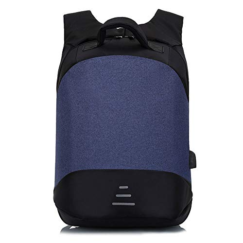 GYDLCLCB Fit 15,6-Zoll-Laptop, Wasser Immune College-Tasche for Männer und Frauen, Anti-Diebstahl-Reise-Laptop-Rucksack mit USB-Ladeanschluss & Brooding Strips, Beruf Business-Rucksacks