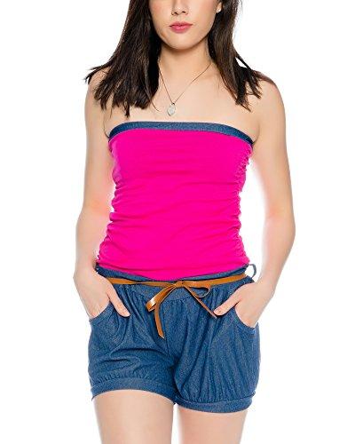 Kendindza Collection - Combinaison - Femme Uni Pink