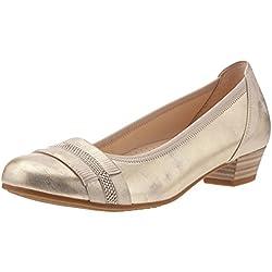 Gabor Shoes Damen Comfort Geschlossene Ballerinas, Silber (Platino 63), 37.5 EU