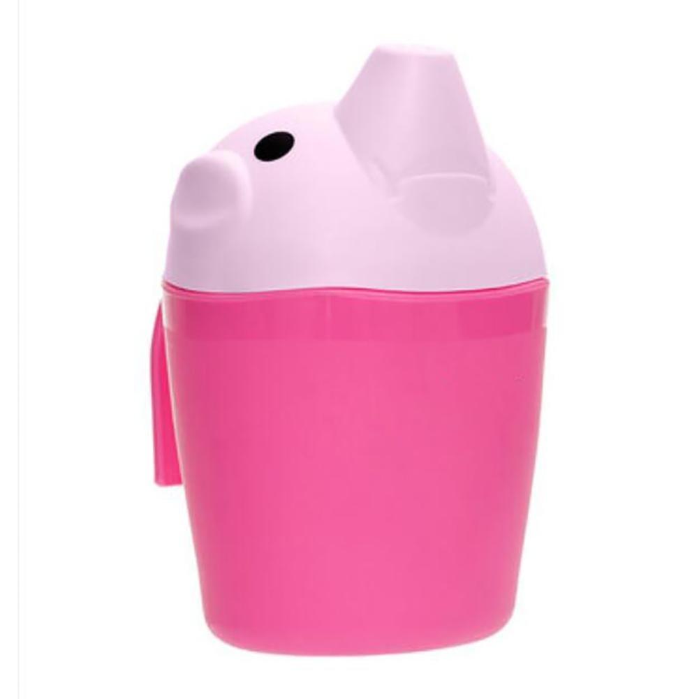 XISHU Tazza di acquazzone dello shampoo Cucchiaio per capelli lavaggio in plastica Giocattoli per b