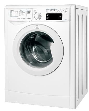 Indesit IWDE 71680 ECO (DE) Waschtrockner / AA / 952 kWh/Jahr / 18400 Liters/Jahr / 1600 UpM / Waschen: 7 kg / Trocknen: 5 kg / nur Waschen 60 Liter 1.33 kWh / Eco Time / weiß