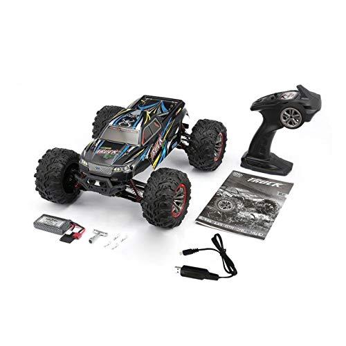 9125 4WD 1/10 ad Alta velocità 46 km/h Camion supersonico Elettrico Fuoristrada Buggy RC Auto da Corsa Giocattolo elettronico RTR(Black & Blue) Jasnyf