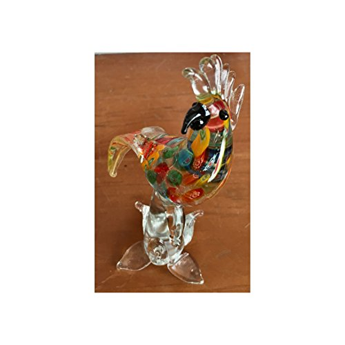 Color cristal loro cacatúa cacatúas pájaros adorno regalo para Navi