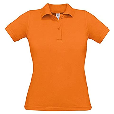 B&C Collection - T-shirt - Moderne - Femme - orange - Medium