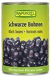 Rapunzel Bio Schwarze Bohnen in der Dose, 4er Pack