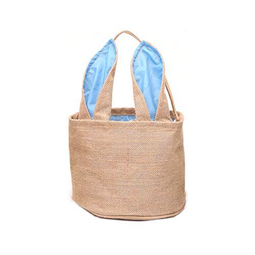 inen Korb Hase Tasche Osterei Jagd personalisierte Süßigkeiten und Geschenke Tasche für Kinder ()