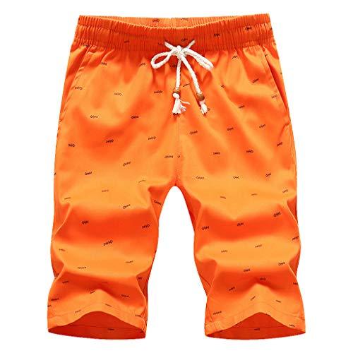 Btruely Hosen Herren Sommer Freizeithose Shorts Fitness Overall Atmungsaktiv Sporthose Männer Strandshorts Schwimmhose