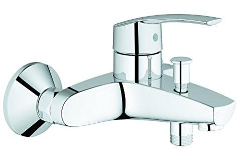 Grohe Start Wannenarmatur, automatische Umstellung Wanne/Brause mit Temperaturbegrenzer und Rückflussverhinderer, 32278001