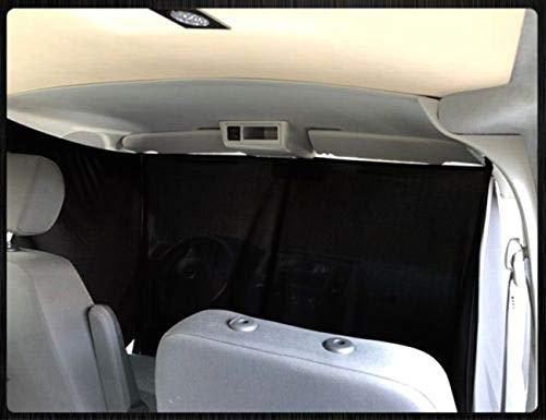 VW T4 Frontgardinen Frontscheiben Gardinen Vorhänge ab BJ 1996 Farbe: Schwarz