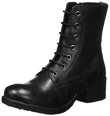 Kickers Damen Rekabby Biker Boots, Schwarz (Noir), 40 EU