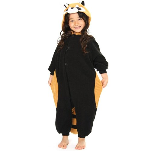 2529 H 130cm support Zach fleece red panda costume children (japan import) (Red Panda Kostüm)