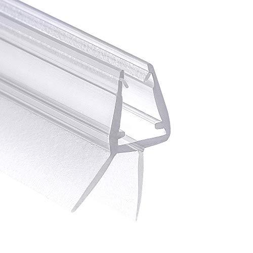 Wellba Premium Duschkabinen-Dichtung 80 cm   Duschtür Dichtung für Glastür mit 6mm 7mm oder 8mm Dicke   Wasserabweisende Duschdichtung mit optimal angeordneten Gummilippen