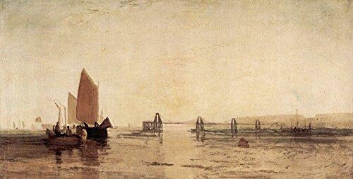 Das Museum Outlet-Kette Pier, Brighton von Joseph Mallord Turner-Poster Print Online kaufen (152,4x 203,2cm)
