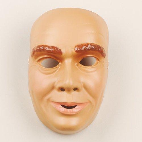 Festartikel Müller Gesichtsmaske junger Mann Gesicht Maske Karneval Fasching Halloween (Männer Halloween-gesichter Für)