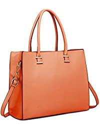 1064d0c69c Miss Lulu Women Designer Shoulder Handbags Ladies Faux Leather Tote Bags