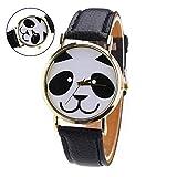 Romote Relojes Mujeres Panda Popular para los Hombres Hombre Relojes Mujer Marca Señoras de la Manera Relojes 2017