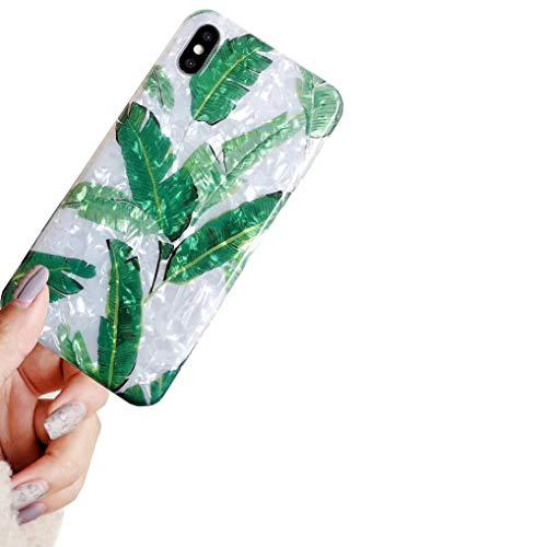 Bakicey iPhone XS Hülle iPhone X Handyhülle Bling Bling Shell Hülle iPhone XS Schutzhülle TPU Anti-Scratch Stoßfest Silikon Ultra Dünn Bumper case für iPhone XS/iPhone X Cover(H) H Schale