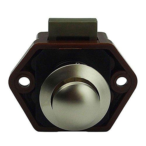 Original Seven Mini Push Button Lock Türknauf für RV Wohnmobil-Schubladen