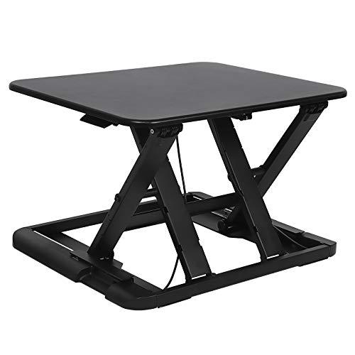 SONGMICS Sitz-Steh-Schreibtisch Steharbeitsplatz Monitorständer Laptop-Ständer, höhenverstellbar...