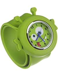 My Doodles DDALIWT - Reloj de pulsera unisex, silicona, color verde