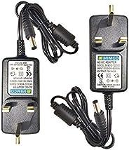 12VDC 2Amp. Power Adapter — AC100V-220V Input Range (2 pcs.)
