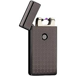 YIJI Arechargeable-Mechero, diseño de arco eléctrico recargable USB para mechero