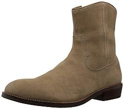 Aldo Mens Fazio Western Boot, Beige, 11 D US