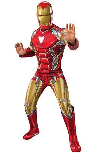Für The Erwachsene Avengers Kostüm - Rubie's Offizielles Avengers Endgame Iron Man, Deluxe Erwachsene Herren Kostüm