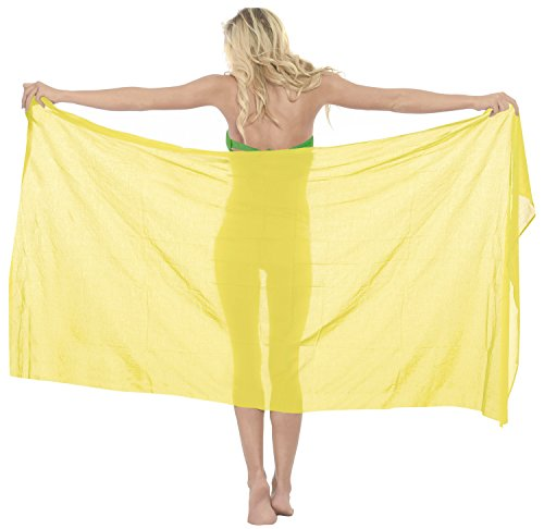 La Leela corrispondenza del 100% in cotone con il costume da bagno semplice pareo di (Camicia In Cotone Piqué Sport)
