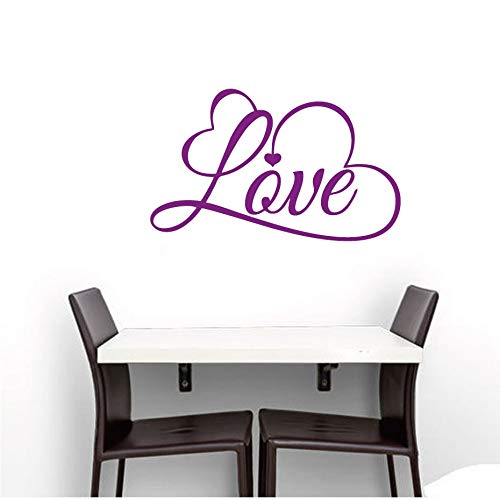 Liebe Künstlerische Design Nordischen Stil Wandaufkleber Abnehmbare Wandtattoo Familie Tapete Wandbild Für Kinderzimmer Home Dekorative 35 cm X 58 cm