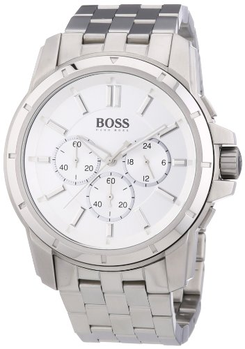 Hugo-Boss-Mens-Quartz-Watch-1512929-with-Metal-Strap
