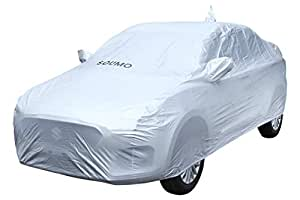 Amazon Brand - Solimo Maruti Swift Dzire (Old Model) Water Resistant Car Cover (Silver)