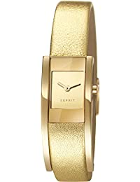 Esprit Damen-Armbanduhr Lacey Analog Quarz Leder ES107352003