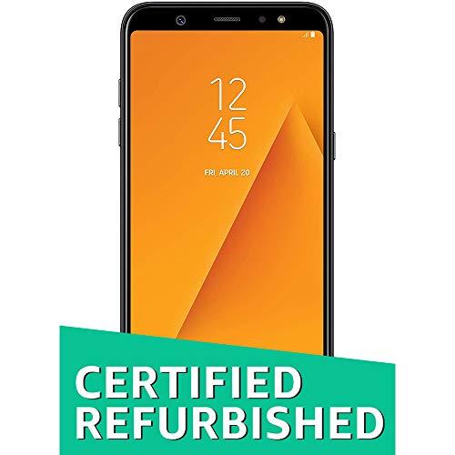 (CERTIFIED REFURBISHED) Samsung Galaxy A6 Plus (Black, 4GB RAM, 64GB Storage) with Offers