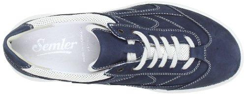 Semler Julia J4075461595 Damen Trekking- & Wanderschuhe Blau (595 - jeans-beige)