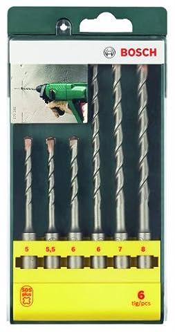Bosch 6 Piece SDS Plus Drill Bit