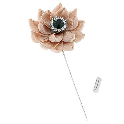 Generic Nouveau Broches en Strass Cristal Bouquet Fleur Bijoux Décoration Vêtement Fête Mariage 3