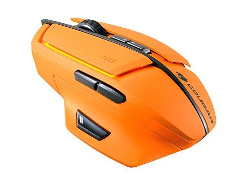Cougar 600M - Raton para gaming, 8200 dpi, color naranja