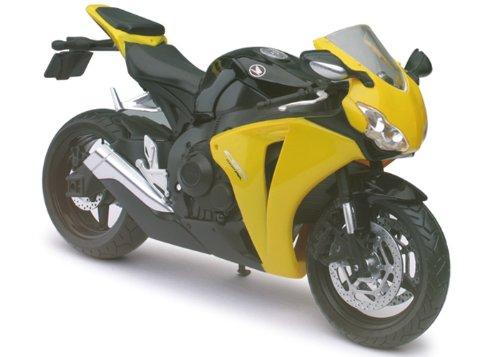 Preisvergleich Produktbild Honda CBR 1000RR gelb/schwarz Automaxx Motorrad Modell 1:12