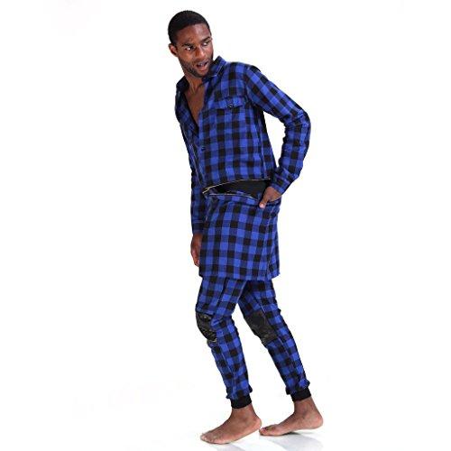 pizoff-homme-chemise-longue-a-carreaux-et-manches-longues-p3124-blue-s