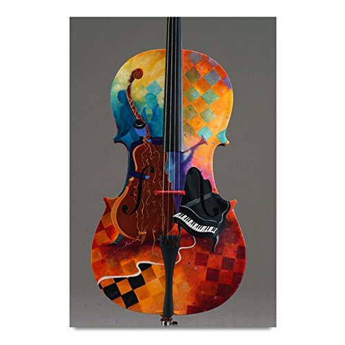 ezyPRNT Violin Art Wall Poster (Size: 12x18 inch)  available at amazon for Rs.195