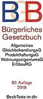 Bürgerliches Gesetzbuch BGB: mit Allgemeinem Gleichbehandlungsgesetz, Produkthaftungsgesetz, Unterlassungsklagengesetz, Wohnungseigentumsgesetz, Beurkundungsgesetz und Erbbaurechtsgesetz