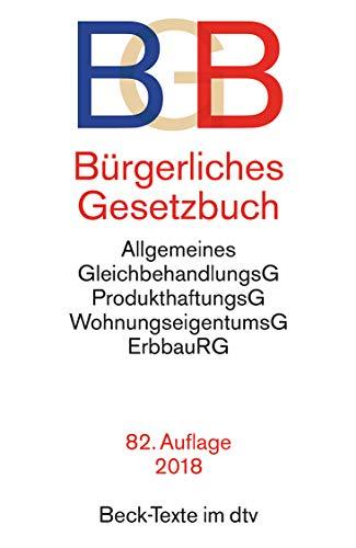 BGB - Burgerliches Gesetzbuch por Various authors