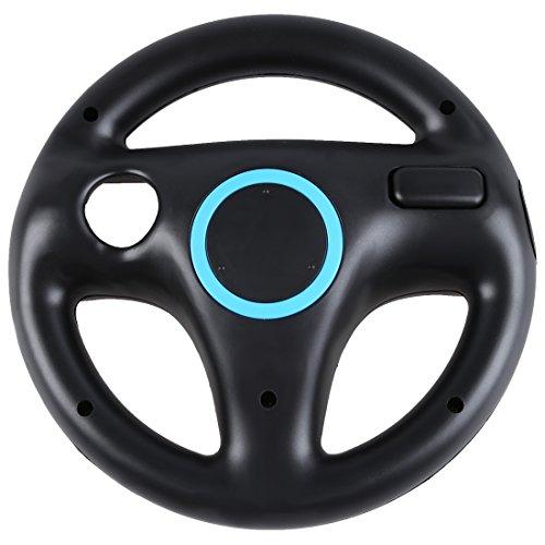 Volante - TOOGOO(R) Nuova ruota nera direttivo per Wii Mario