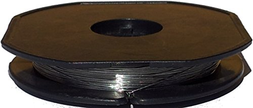 "25 Meter FeCrAl KAN-A1 Heizdraht Ø 0,25mm - AWG 30 (Grundpreis: EUR 0,24/m) Heizleiterdraht - Widerstandsdraht - resistance heating wire 0.010"""