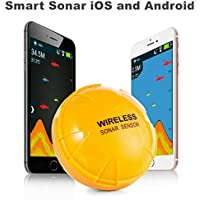 ACEOLT Detector de Poisson Inteligente sin Bluetooth para ISO en un teléfono Android, sonda de captador de sonda a Distancia para la réplica de la estación de Quai, de Rivage
