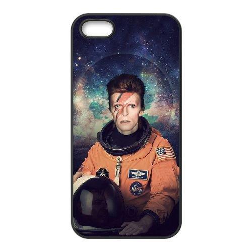 David Bowie coque iPhone 5 5S Housse téléphone Noir de couverture de cas coque EBDXJKNBO13577