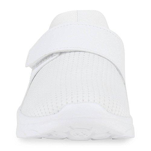 Freizeit Damen Herren Sportschuhe Bequeme Laufschuhe Profil Sohle Weiß