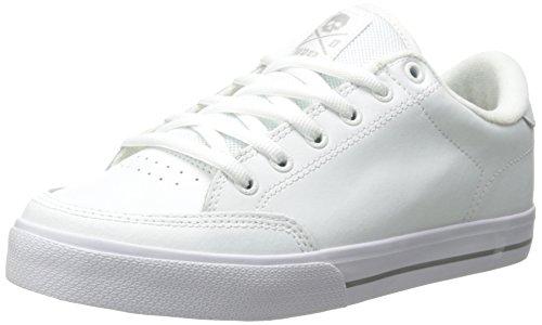 C1RCA Herren Lopez50 White/Grey Skateboardschuhe, Weiß (Bianco), 37 EU
