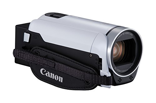 Galleria fotografica Canon LEGRIA HF R806 Handheld camcorder 3.28MP CMOS Full HD White - camcorders (3.28 MP, CMOS, 25.4 / 4.85 mm (1 / 4.85), 2.07 MP, 2.07 MP, 32x)